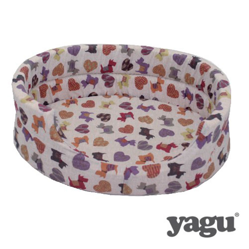 Yagu Rest Opened Cot with Cushion Doggy