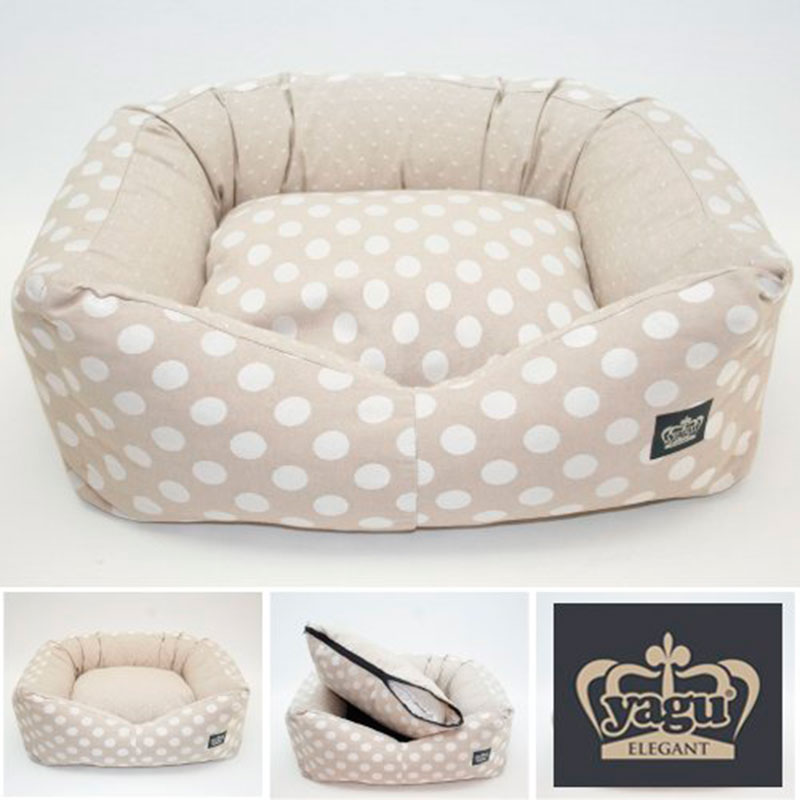 Yagu Rest Removable Provenza Beige Vi Cot