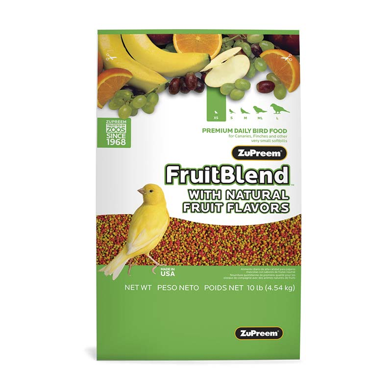 ZuPreem FruitBlend Flavor with Natural Flavors very Small Birds