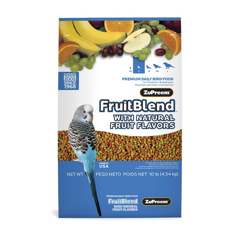 ZuPreem FruitBlend Flavor with Natural Flavors Small Birds