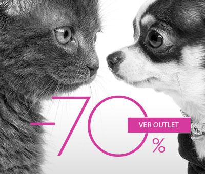 Outlet y Ofertas para Perro y Gato en cunas, camas, ropa, cepillos